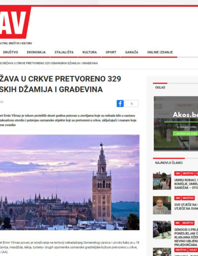 Kiliseye Çevrilen Türk Eserleri gazete haberleri (22)