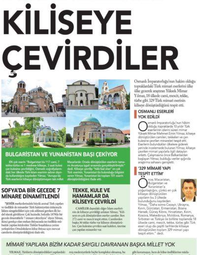 Kiliseye Çevrilen Türk Eserleri gazete haberleri (24)